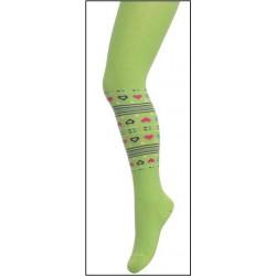 Ciorapi fete cu model 104-110 cm