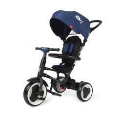 Tricicleta pliabila pentru copii QPlay Rito Albastra