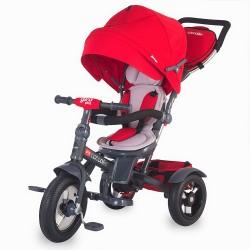 Tricicleta Coccolle Giro Plus Rosu