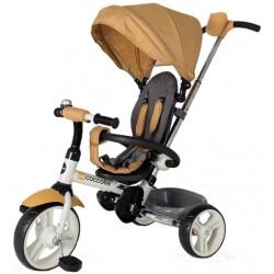 Tricicleta copii pliabila DHS Coccolle Urbio bej