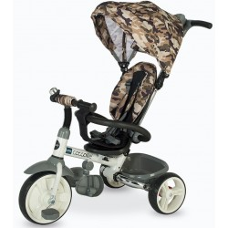Tricicleta copii pliabila DHS Coccolle Urbio Army