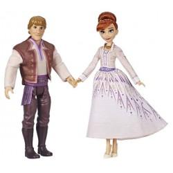 Set papusi Anna si Kristoff Frozen II Hasbro E5502
