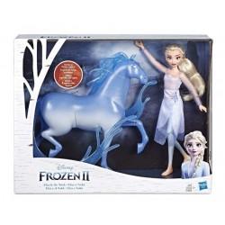 Set papusi Elsa si Nokk Frozen II Hasbro E5516