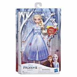 Papusa Frozen II Elsa cu lumini si sunete Hasbro E6852