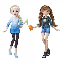 Set papusi Elsa si Ana din Ralph rupe netu Hasbro E7357-E7417