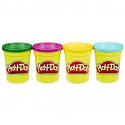 Playdoh set 4 culori plastelina Hasbro B5517