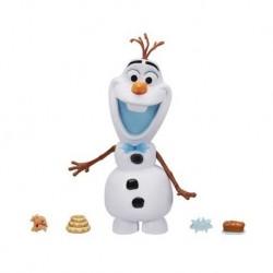 Figurina Olaf Frozen cu sunete si gustari delicioase Hasbro C3143