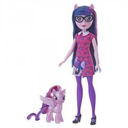 Papusa Twilight Sparkle cu ponei Hasbro E5657-E5660