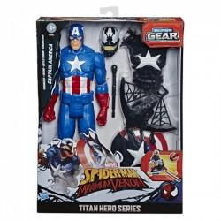 Figurina Max Venom Capitanul America Hasbro E8683