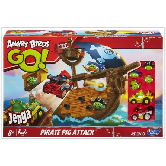 Angry birds go pirate corabie