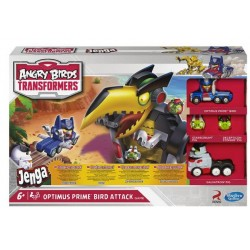 Angry birds transformers optimus prime