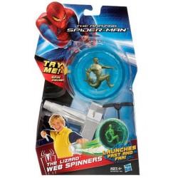 Figurina titirez Spider-man cu lansator Soparla