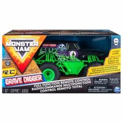 Masina Monster Jam cu radiocomanda Groparul Spin-master 6044955