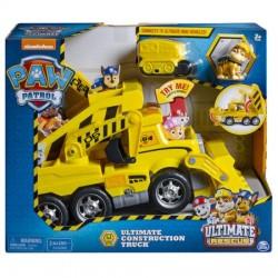 Paw Patrol Patrula Catelusilor Camion Constructii Spin-master 6046466