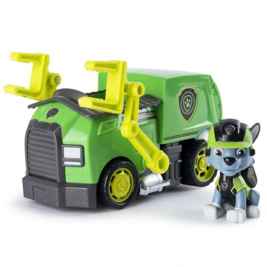Patrula Catelusilor set masina cu figurina Rocky Spin-master 6031703_20079029
