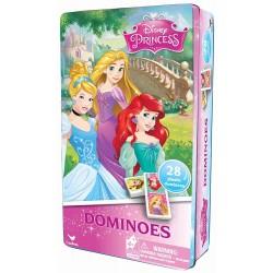 Domino Printese Disney in cutie de metal Spin-master 6033089
