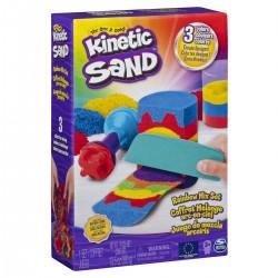 Kinetic sand set curcubeu Spin-master 6053691
