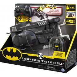 Batmobil cu radiocomanda si figurina Batman Spin-master 6055747