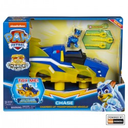 Paw Patrol masina transformabila Charged up Chase Patrula Catelusilor Spin-master 6055932