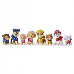Paw Patrol set 8 figurine Pisicutele nazdravane Spin-master 6058524