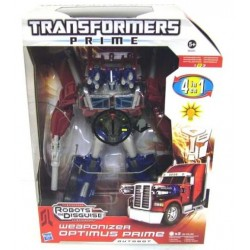 Transformers 4 in 1 Weaponizer Optimus Prime cu lumina