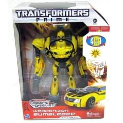 Transformers 4 in 1 Weaponizer Bumblebee cu lumina
