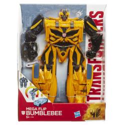 Transformers mega flip bumblebee