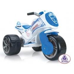 Motoscuter electric 6V de politie Injusa