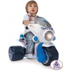 Tricicleta electrica Injusa Samurai police 6v
