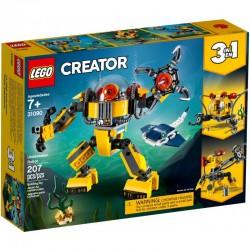 Lego Creator 31090 robot subacvatic