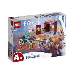 LEGO Disney Frozen Princess Aventura Elsei cu caruta 41166