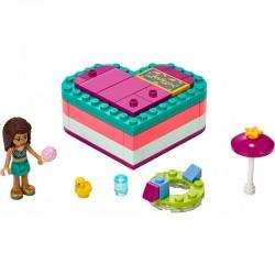 Lego Friends 41384 cutia in forma de inima a Andreei
