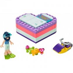 Lego Friends 41385 cutia in forma de inima a Emmei