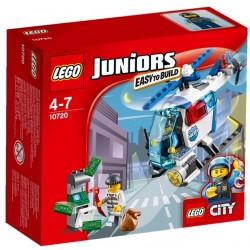 Lego juniors 10720 elicopter de politie in actiune