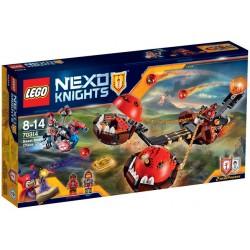Lego nexo 70314 carul haosului al lui Beast Master