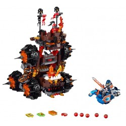 Lego Nexo 70321 masina de asediu a generalului Magmar