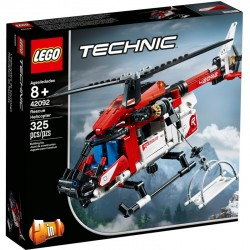 Lego technic 42092 elicopter de salvare