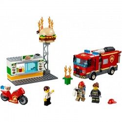 Lego City 60214 Stingerea incendiului de la Burger Bar