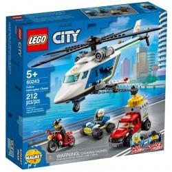 Lego City 60243 Urmarire cu elicopterul politiei