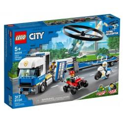 Lego City 60244 Transportul elicopterului de politie
