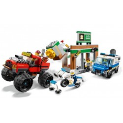 Lego City 60245 Furtul cu Monster Truck