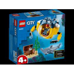 Lego City 60263 Minisubmarin oceanic