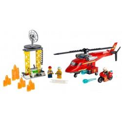 Lego city 60281 elicopter de pompieri