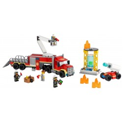 Lego city 60282 unitatea de comanda a pompierilor