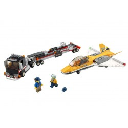 Lego City 60289 transport de avion cu reactie