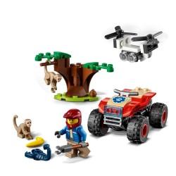 Lego City 60300 Atv de salvare a animalelor salbatice