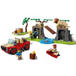 Lego City 60301 masina de teren pentru salavarea animalelor