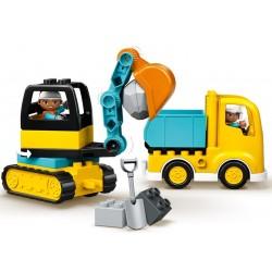 Lego Duplo 10931 camion si excavator