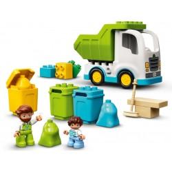 Lego Duplo 10945 Autogunoiera si reciclare