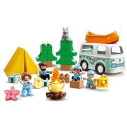 Lego Duplo 10946 Aventura cu rulota de vacanta a familiei